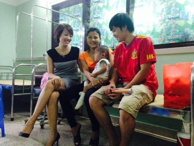 Chuyện về nữ doanh nhân xinh đẹp làm từ thiện ở chùa Bồ Đề - Ảnh 4
