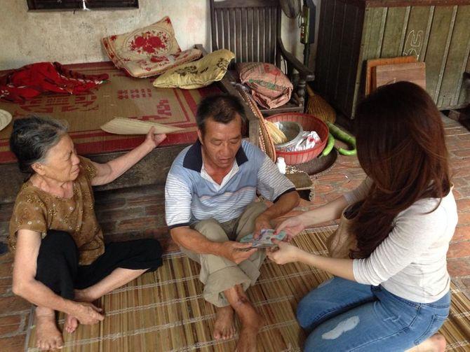 Chuyện về nữ doanh nhân xinh đẹp làm từ thiện ở chùa Bồ Đề - Ảnh 8