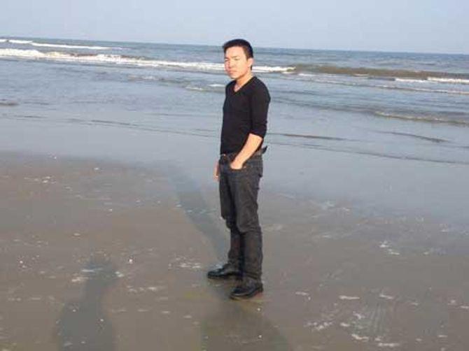 Di ảnh nạn nhân Vũ Minh Trí.