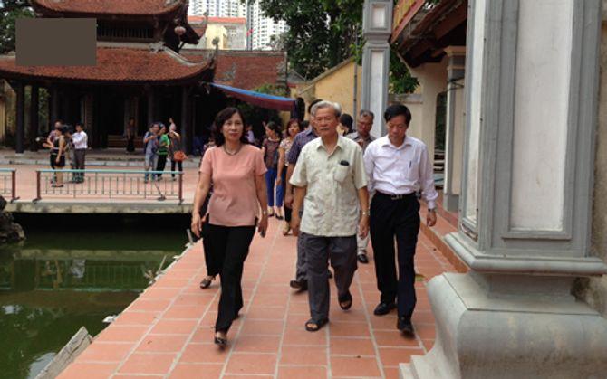 Trụ sở Thành hội Phật giáo Hà Nội có 6 con sư tử đá Trung Quốc