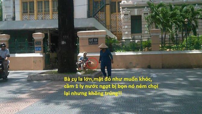 Phẫn nộ việc cụ bà bị hành hung giữa Sài Gòn - Ảnh 3