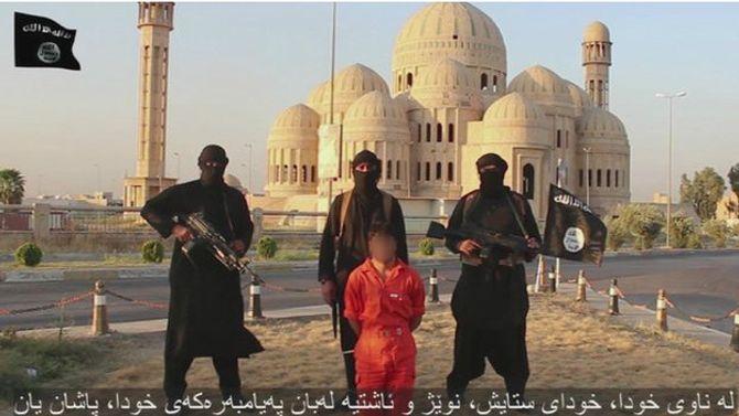Phiến quân Hồi giáo IS lại tung video chặt đầu người