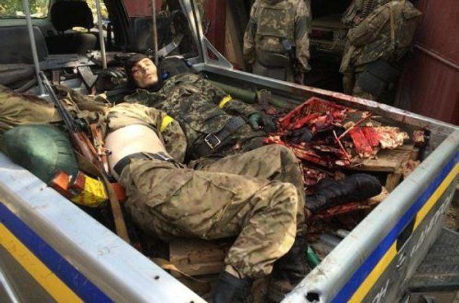 Hàng trăm binh sĩ Ukraine bị thảm sát bởi các tay súng ly khai?