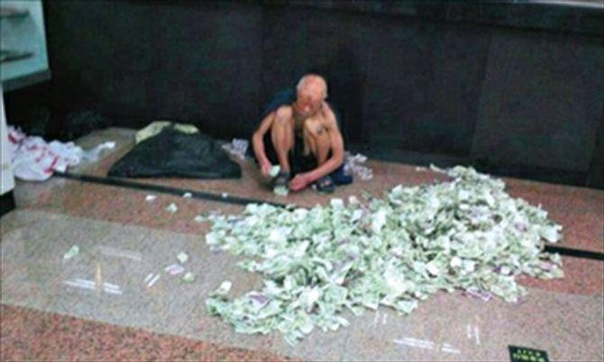 Trung Quốc: Ông lão ăn xin kiếm hàng nghìn USD mỗi tháng