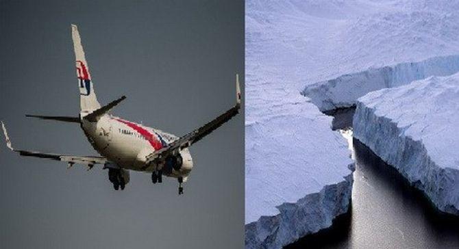 Máy bay MH370 đã chuyển hướng đến Nam Cực?
