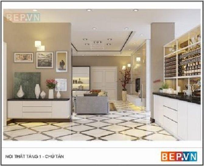 Công nghệ sản xuất nội thất - tủ bếp theo tiêu chuẩn châu Âu 9
