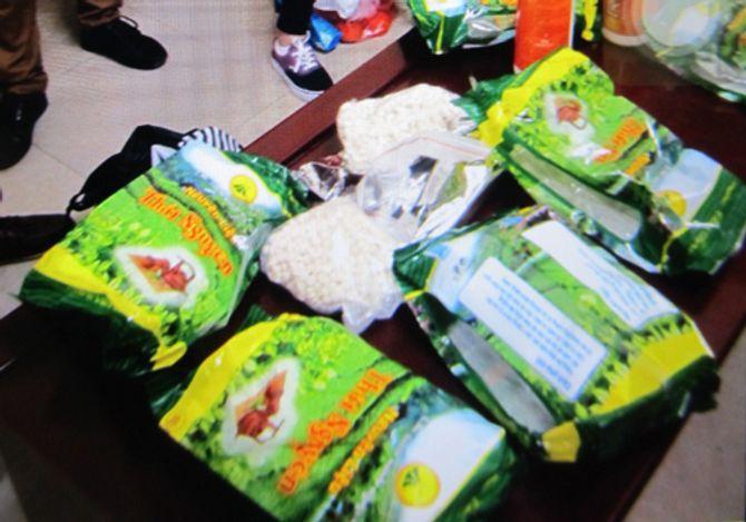 Phát hiện ma túy giấu trong các gói chè Thái Nguyên - Ảnh 1