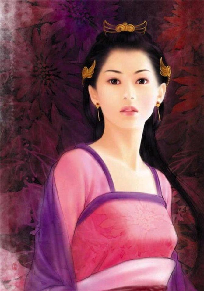 Vẻ đẹp của Dương Ngọc Hoàn khiến hoa phải hổ thẹn