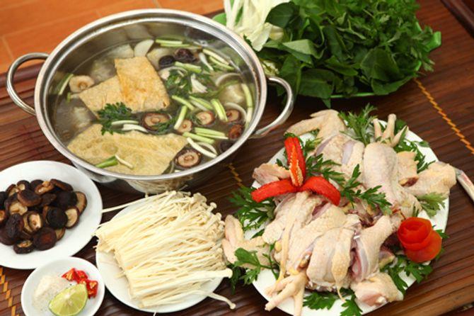 Công thức cho món lẩu gà nấm ngon mê ly - 1