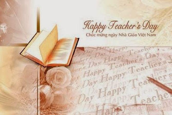 Lời chúc 20/11 hay và ý nghĩa nhất dành tặng thầy, cô giáo - Ảnh 1