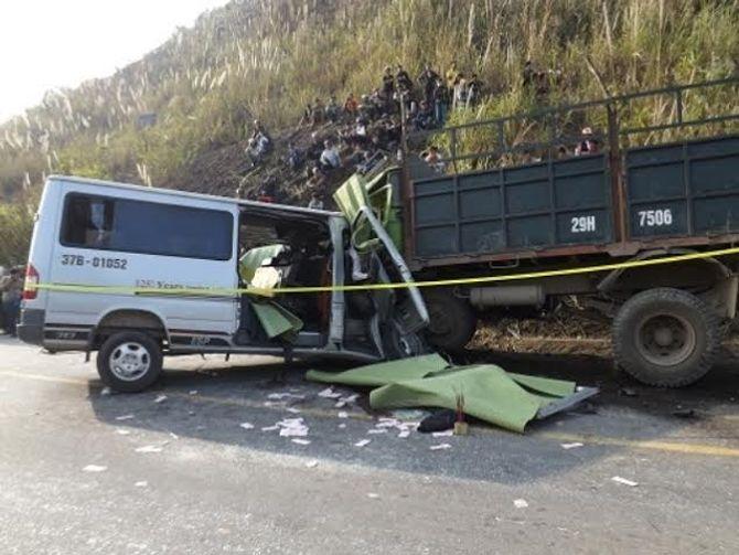 Tai nạn 10 người chết ở Thanh Hóa: Tài xế kể lại giây phút kinh hoàng 5