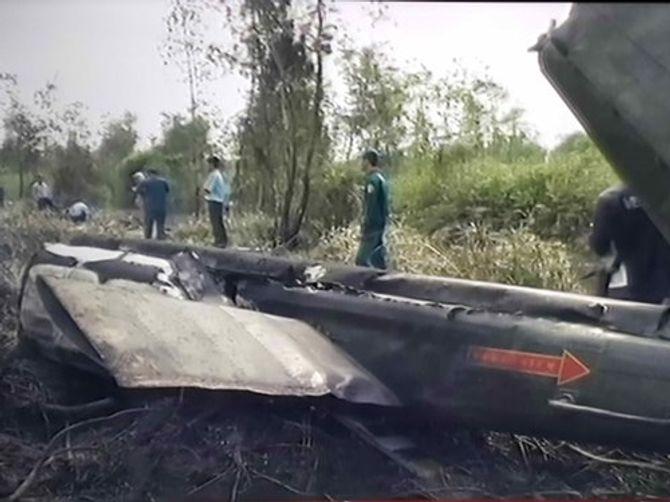 Máy bay trực thăng quân sự rơi: Mất liên lạc sau 8 phút cất cánh - Ảnh 1