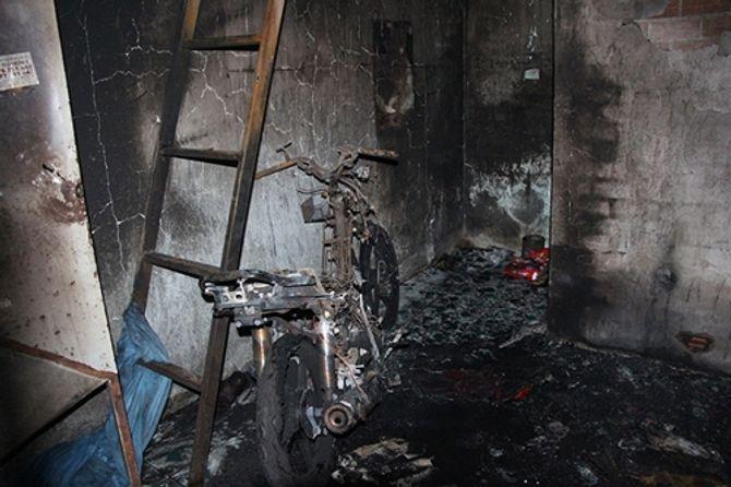Bình Dương: Một thanh niên bốc cháy dữ dội trong phòng trọ 4