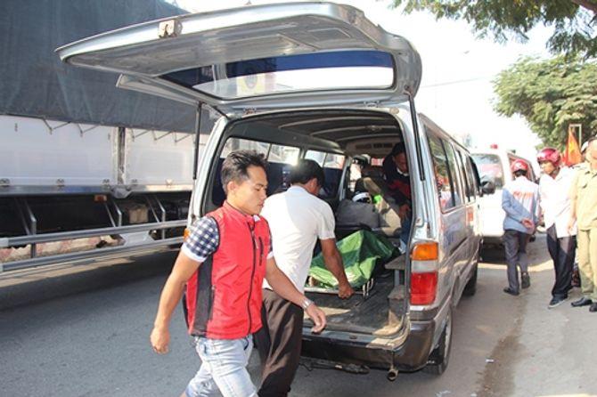 Bình Dương: Một thanh niên bốc cháy dữ dội trong phòng trọ 5