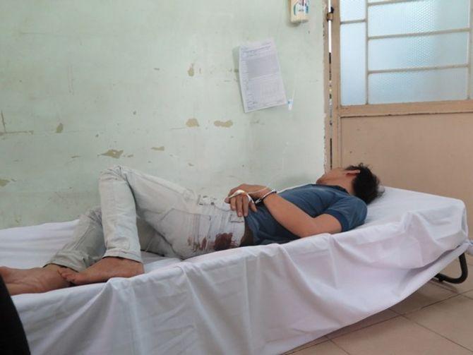 Trinh sát rượt đuổi, nổ súng hạ gục hai tên cướp ở Sài Gòn