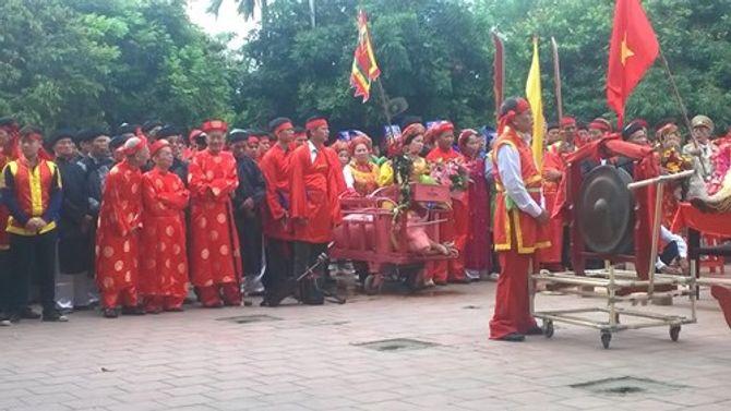 Lễ hội chém lợn ở Bắc Ninh: Máu nhuộm đỏ sân đình 6