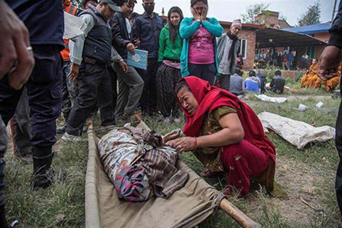 5.000 người chết vì động đất, Nepal tuyên bố quốc tang - Ảnh 2