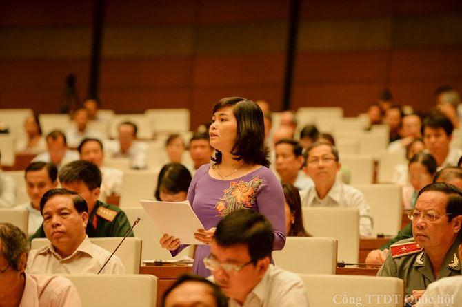 Quốc hội thảo luận về dự án Luật Trưng cầu ý dân - Ảnh 1