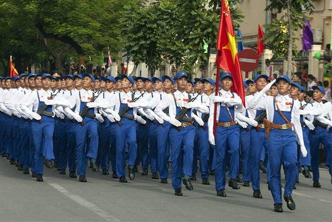 Những hình ảnh ấn tượng trong lễ diễu binh mừng Quốc Khánh 2/9 - Ảnh 14