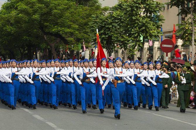 Những hình ảnh ấn tượng trong lễ diễu binh mừng Quốc Khánh 2/9 - Ảnh 15