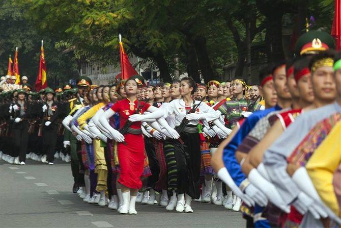 Những hình ảnh ấn tượng trong lễ diễu binh mừng Quốc Khánh 2/9 - Ảnh 16
