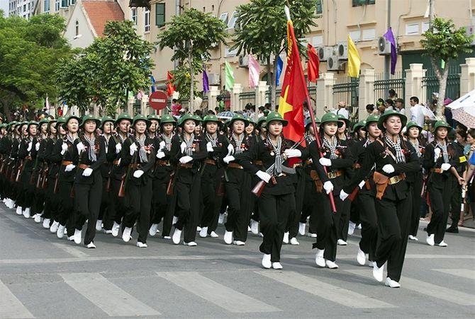 Những hình ảnh ấn tượng trong lễ diễu binh mừng Quốc Khánh 2/9 - Ảnh 17