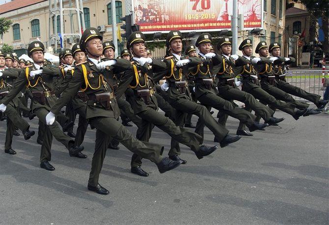 Những hình ảnh ấn tượng trong lễ diễu binh mừng Quốc Khánh 2/9 - Ảnh 19