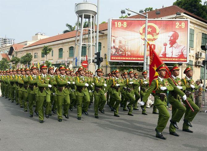 Những hình ảnh ấn tượng trong lễ diễu binh mừng Quốc Khánh 2/9 - Ảnh 20