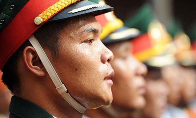 Những hình ảnh ấn tượng trong lễ diễu binh mừng Quốc Khánh 2/9 - Ảnh 11