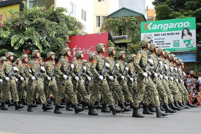Những hình ảnh ấn tượng trong lễ diễu binh mừng Quốc Khánh 2/9 - Ảnh 7