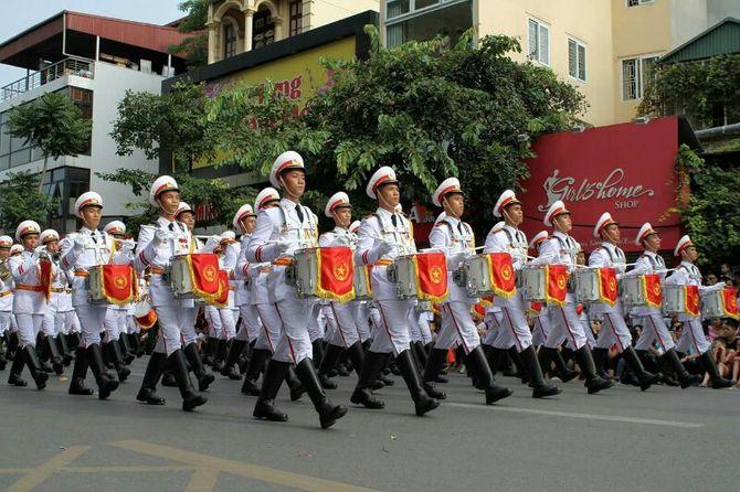Những hình ảnh ấn tượng trong lễ diễu binh mừng Quốc Khánh 2/9 - Ảnh 9