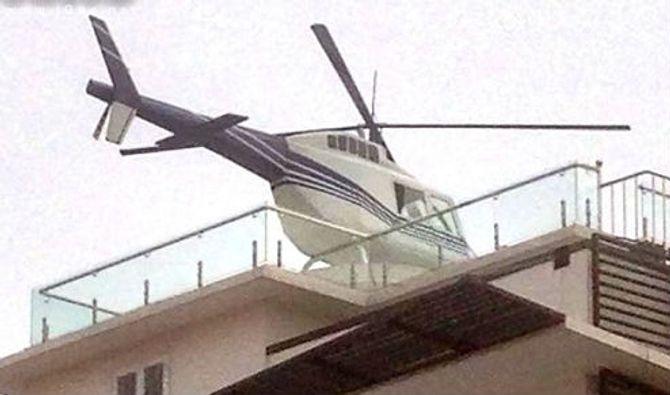 Trực thăng đậu trên nóc nhà: Đại gia lên tiếng, chính quyền vận động tháo dỡ - Ảnh 4