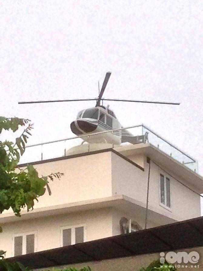 Trực thăng đậu trên nóc nhà: Đại gia lên tiếng, chính quyền vận động tháo dỡ - Ảnh 3
