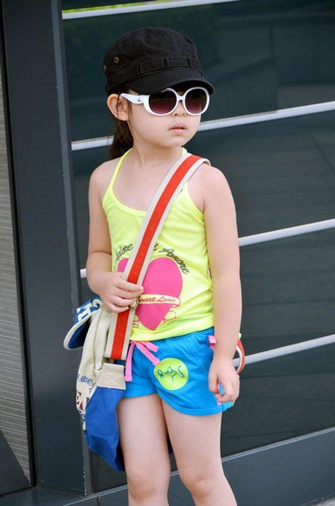 Mẹo chọn quần áo mùa hè cho bé - Ảnh 2