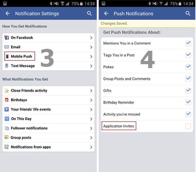 Cách chặn thông báo mời chơi Pirate Kings trên facebook 12