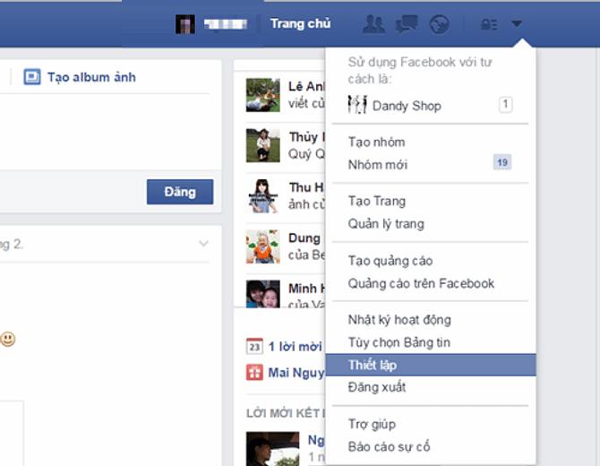 Cách chặn thông báo mời chơi Pirate Kings trên facebook 2