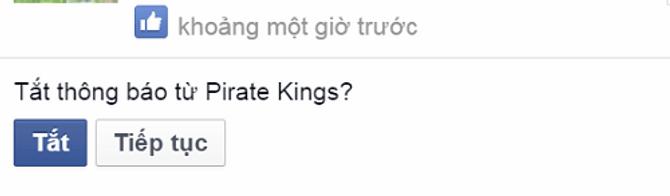 Cách chặn thông báo mời chơi Pirate Kings trên facebook 7