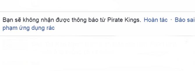 Cách chặn thông báo mời chơi Pirate Kings trên facebook 8