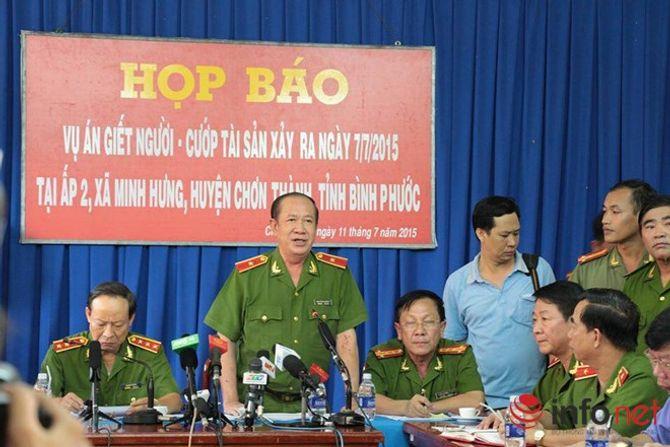 Cập nhật thông tin họp báo về vụ thảm sát ở Bình Phước - Ảnh 3