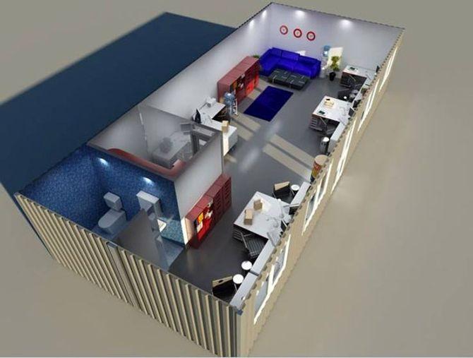 Cận cảnh nhà container đầy đủ nội thất giá 100 triệu ở TPHCM - Ảnh 4