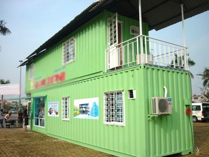 Cận cảnh nhà container đầy đủ nội thất giá 100 triệu ở TPHCM - Ảnh 2
