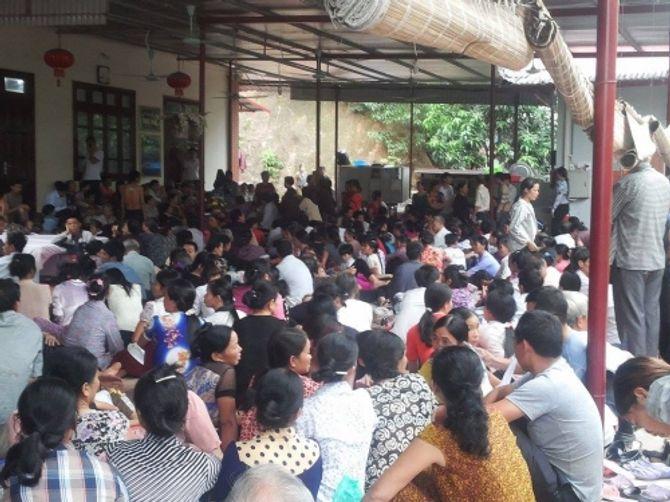 Mục sở thị cơ sở chữa bệnh bằng cách dẫm đạp của Cô Phú Thái Nguyên - Ảnh 2