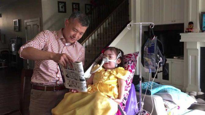 Bé gái 5 tuổi được bố mẹ cho lựa chọn kết thúc cuộc đời gây xúc động mạnh - Ảnh 2