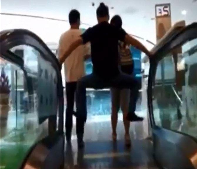 """Video: Chiêu đối phó """"tử thần thang cuốn"""" của dân Trung Quốc - Ảnh 3"""