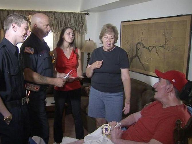 Cô gái tặng bữa sáng cho lính cứu hoả và nhận sự đền đáp bất ngờ - Ảnh 5
