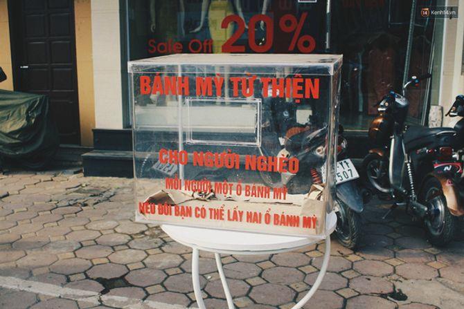Sau Sài Gòn, tủ bánh mỳ từ thiện đầu tiên đã xuất hiện ở Hà Nội - Ảnh 2