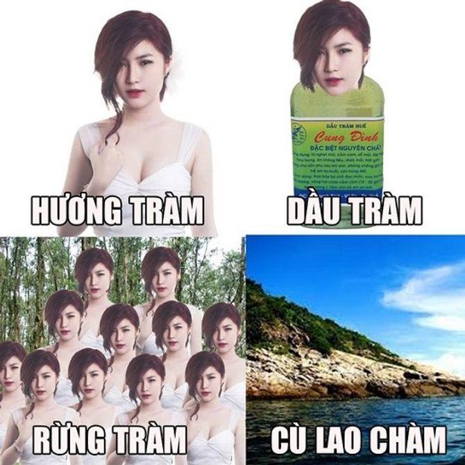 Cười lăn với loạt ảnh chế siêu hài về sao Việt - Ảnh 7