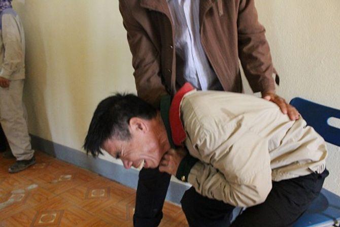 Sập giàn giáo ở Formosa: Thắt lòng nhìn thi thể con không còn nguyên vẹn 6