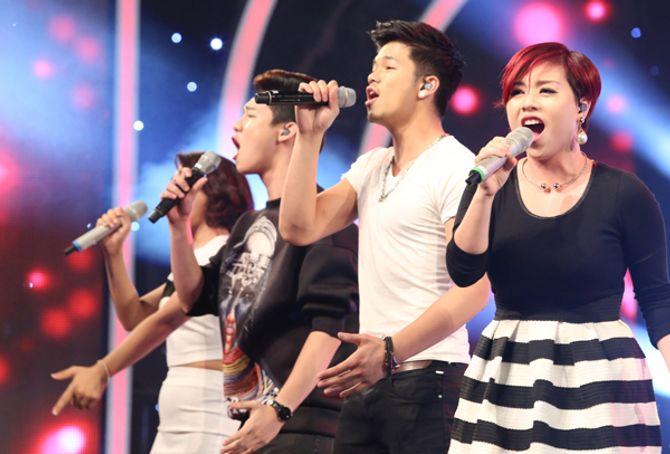 """Diva Hồng Nhung trẻ, s.e.xy """"lấn át"""" thí sinh Vietnam Idol 2015 - Ảnh 3"""