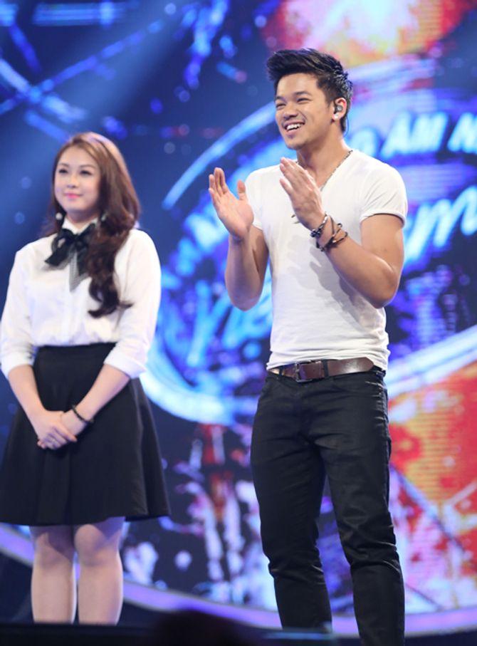 """Diva Hồng Nhung trẻ, s.e.xy """"lấn át"""" thí sinh Vietnam Idol 2015 - Ảnh 4"""
